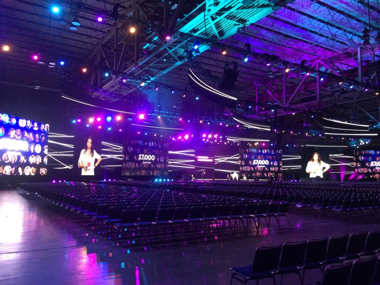 Full size venue
